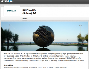 INNOVATIS (Suisse) AG ist auch auf LinkedIn