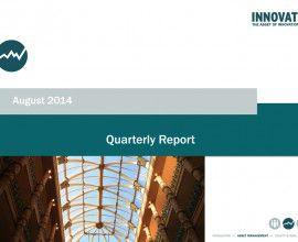 """Quarterly Report"" August 2014"